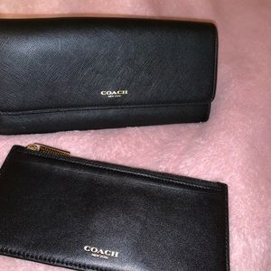 COACH wallet and coin pouch SET